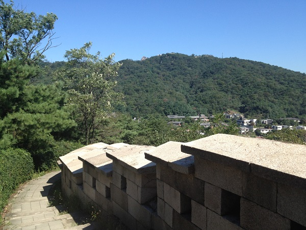 北岳山(プガッサン)登山